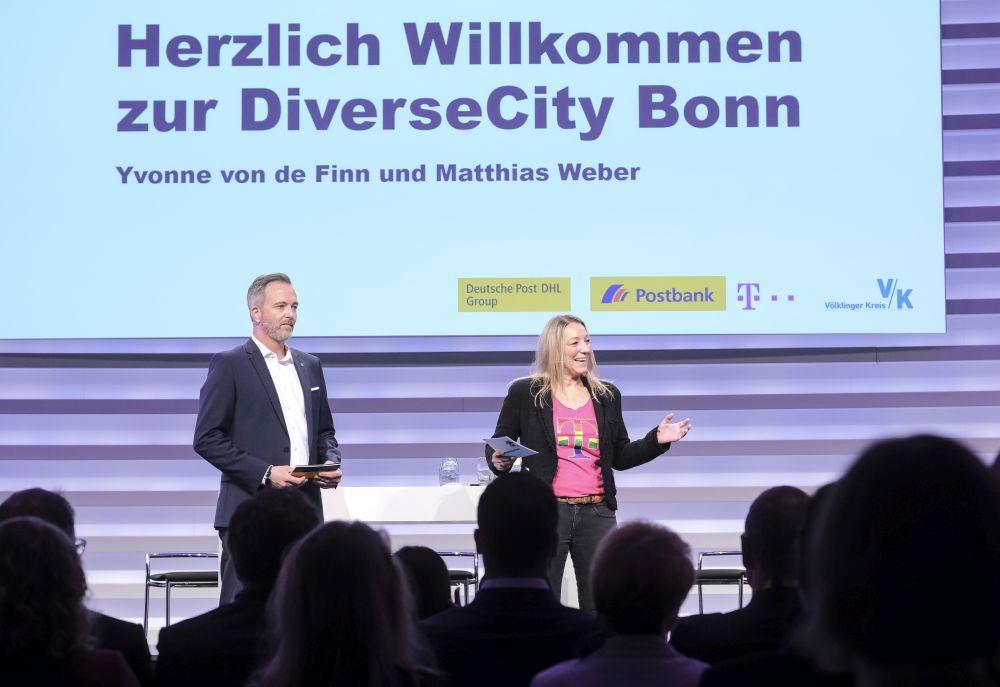 DiverseCity Bonn 2019 Willkommen